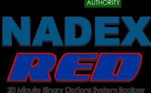 NADEX RED System Logo
