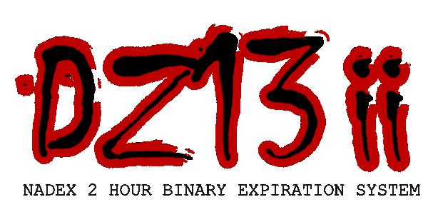 DZ13 ii NADEX 2 Hour Binary Options System logo