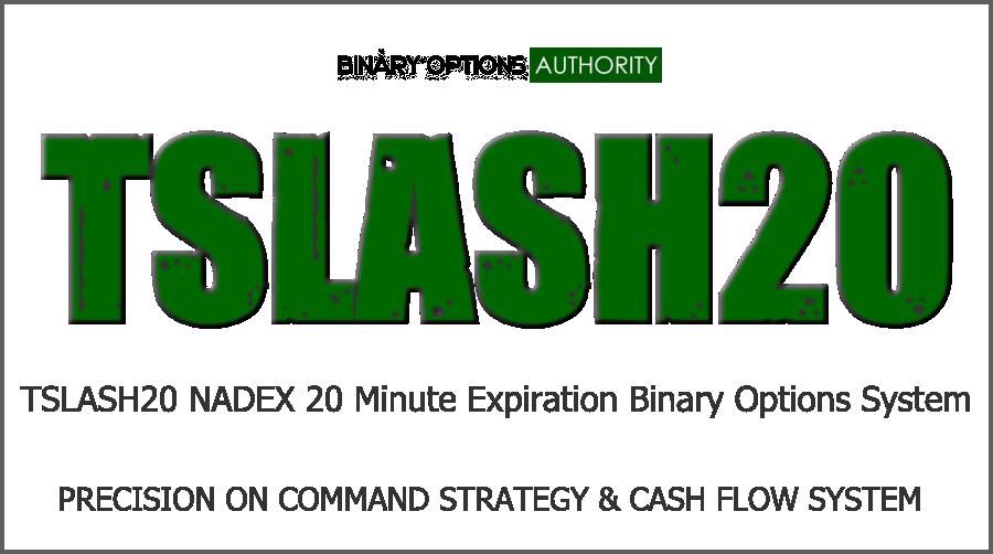 TSLASH20 20 Expiration Binary Options System