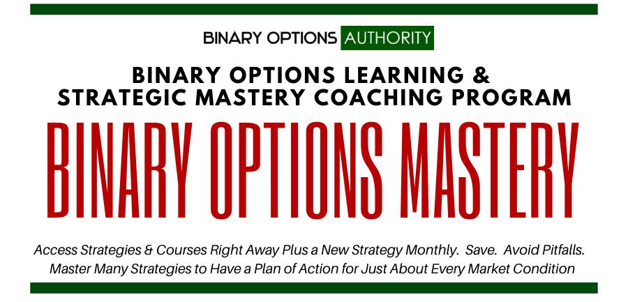 binary options mastery